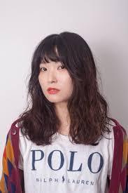 韓国美容室 韓国ヘアスタイル タンポポヘア 韓国ヘアスタイル韓国