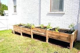 above ground garden ideas. Above Ground Garden Bed Waist High Raised Plans Striking And Easy To Build Ideas