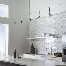 Modern Kitchen Track Lighting 20 Kitchen Track Lighting Ideas To Get Your Cooking On Track