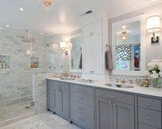 White and Gray Bathroom - Tamara Mack Design