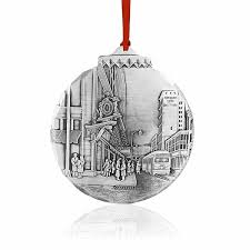 Christmas ornament by Wendell August. Memories of shopping in the big  department stores in Pittsburgh