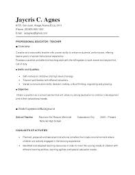 Instructional Assistant Resume Primary School Teaching Aide Formats ...