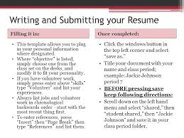 what to title your resume resume and etiquette mrs johnson ms rollins ppt download