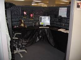 Diy Clever Halloween Party Decorating Tips Haunted House Idea The Nursery  Album On Imgur For I Decided To Decorate My Work Cubicle As
