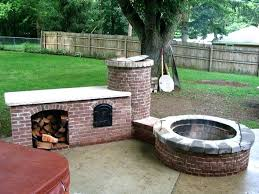 outdoor bbq pit lovely wood fire pit wood fired outdoor kitchen grill smoker oven