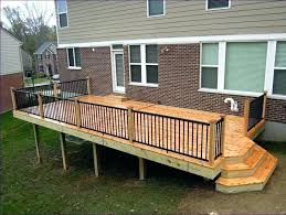 stair railing simple deck designs charming stainless steel handrail with rustic handrails for stairs outdoor ideas glass deck railing