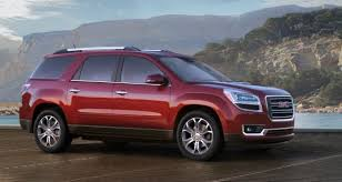 2016 gmc acadia with new styling