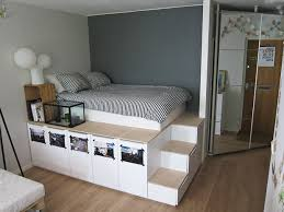 Diy Under Bed Storage The Budget Decorator Pertaining To Amazing Property  Bed With Storage Under Decor