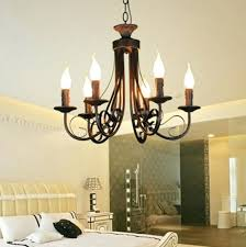 pillar candle chandeliers chandelier fascinating candlestick 6 arms modern art rustic marvellous uk