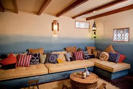 moroccan lounge furniture. Moroccan Basment For Room Crashers Eclectic-basement Lounge Furniture