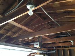 garage ceiling insulation. Delighful Insulation Eventually I Would Put A Ridge Vent In When The Roof Is Redone But It  Decent Condition So That Will Likely Not Be For While To Garage Ceiling Insulation