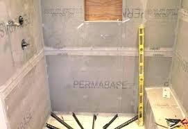 building a shower base pan beautiful liner in rebuild making mortar dreamline
