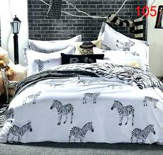 animal print bedding sets zebra sheets queen size twin full tiger