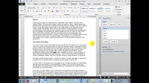 Microsoft Word Job Application Test Part 2 Youtube