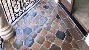 High Quality Manganese Saltillo Terra Cotta Mexican Tile