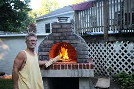 backyard wood burning pizza oven the large family outdoor wood fired pizza oven in new by