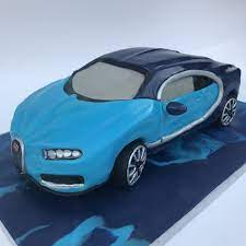It's coffee cake with coffee buttercream was super soft and fluffy. Bugatti Chiron Car Cake Cars Birthday Cake Car Cake Bugatti