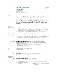 Example Of Nursing Resume Simple Resume Examples For Nurses Assistant Sample Of Student Nurse Resume