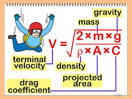 calculating terminal velocity