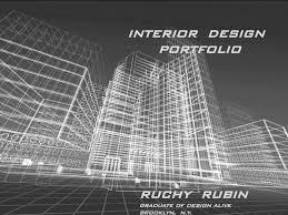 interior design portfolio er page pdf