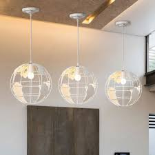 large pendant lighting fixtures. Modern Style White Wrought Iron Ball Shape Larger Pendant Lighting Large Fixtures E