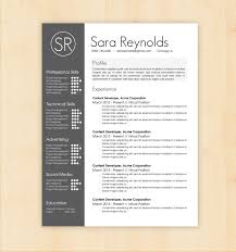 Resume Templates Word Free Modern Modern Resume Templates Word Free Design Template Sara Reynolds