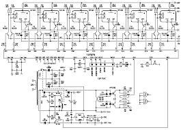 decatron clock project total circuit diagram of the decatron clock clicking on the figure will open a window a detailed circuit diagram in pdf format