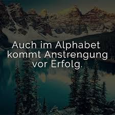 ᐅ Auch Im Alphabet Kommt Anstrengung Vor Erfolg