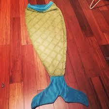 Mermaid Tail Blanket Sewing Pattern