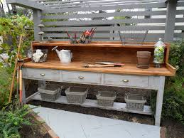 Potting Bench Garden Workbench Outdoorsy Pins Pinterest Best Gardens And