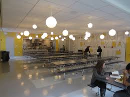 Cafeteria Lighting Design Who Says The Cafeteria Has To Be Boring Architectural