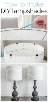 How To Make A Lampshade With Your Favorite Fabric Bloggers Best