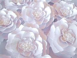Paper Flower Cricut Template Big Paper Flowers