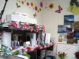 Spring Flower Decorations For Office
