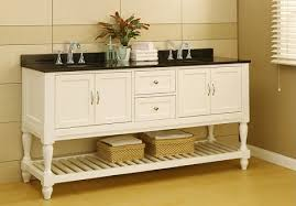 70 pearl white mission style open shelf bathroom vanity from direct vanity