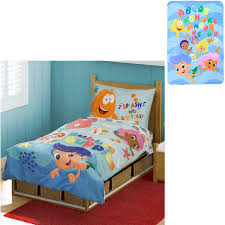 Good Bubble Guppies Toddler Bed Set With Bonu Walmart Inside Dimensions 1500 X  1500