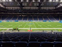 Ford Field Lions Seating Chart Ford Field Section 106 Seat Views Seatgeek