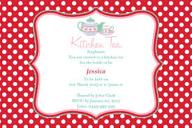 Kitchen Tea Party Invitation 5 Nice Kitchen Tea Party Invitation Ideas Thegfoilcom