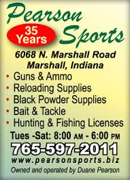 MANSFIELD VILLAGE - Parke County COVERED BRIDGE FESTIVAL - VISITORS GUIDE -  Mansfield Indiana: Sportsmen Visit Pearson Sports in Marshall