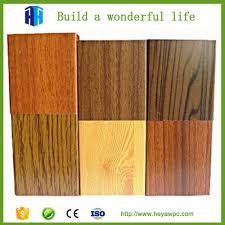 est pvc wood plastic exterior wall cladding material tiles in bangalore