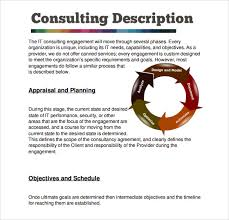 Sample Consultant Proposal Template 8 Free Documents