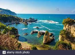 Die Schwarzmeerküste an der Kilimli-Bucht, in der Nähe von Agva, Sile, im  Nordwesten der Türkei Stockfotografie - Alamy