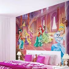 princess wallpaper mural kids wall