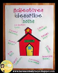 61 Timeless Adjectives Chart Poster