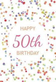 50th Birthday Cards Free Greetings Island