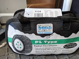 Laclede Chain Company 1134 Pl Type Class S Snow Tire Chains