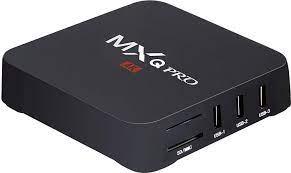Amazon.com: MXQ Pro 4K Android 7.1 TV Box S905X Quard-core Wi-Fi Embedded  UHD 4K H.264 Media Center Smart OTT TV Box: Electronics