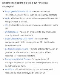 Employee Hire Forms Your Ultimate New Hire Checklist For Successful Onboarding