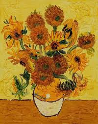 still life with sunflowers vii by vincent van gogh famous handmade canvas oil painting reions