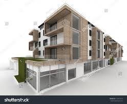 architecture design. Architecture Design And Visualization Of Apartment Building I